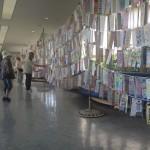 日医大北総病院2階にて の展示