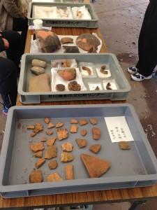縄文時代、更に旧石器時代までさかのぼる遺跡も紹介しました